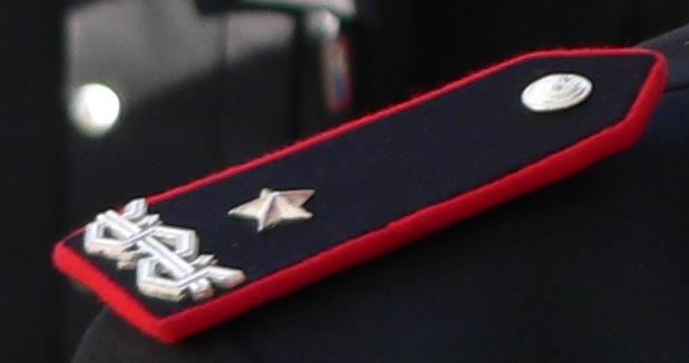 Colonnello dei Carabinieri, partecipante alla pro...