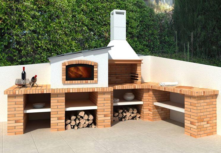 Per realizzare un barbecue in muratura serve il pe...