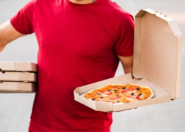 La consegna di pizze a domicilio può configurare u...