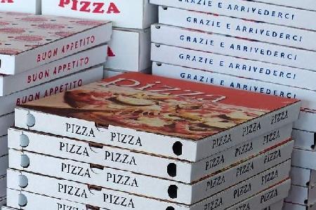 L'acquisto di cartoni contenitori per pizza di asp...