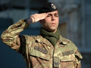 VSP in servizio presso il 9 Reggimento Fanteria
