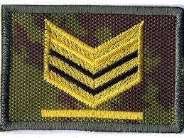 Sergente maggiore dell'Esercito, dislocato a Zoppo...