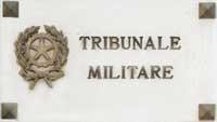 Reato commesso ai danni di un magistrato militare....